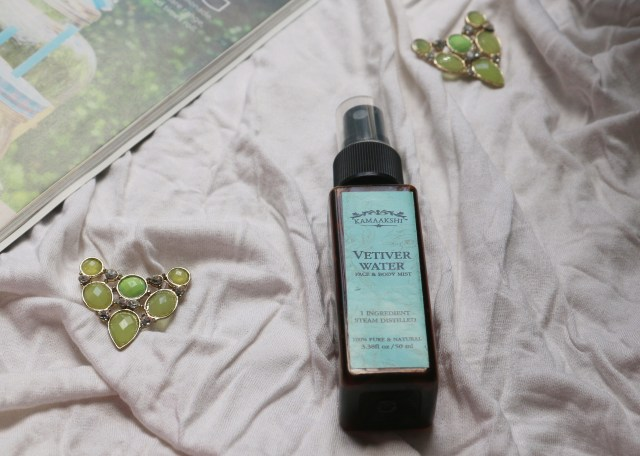 Kamaakshi Botanicals Vetiver Water Face and Body Mist | Review