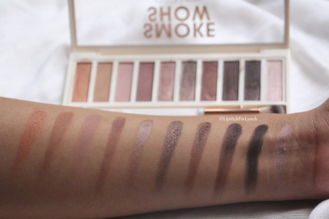 Flower Beauty Shimmer & Shade Eyeshadow Palette | Warm | Review and Swatches