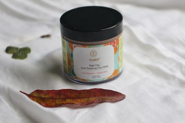 Tvakh Pink Clay Acne Purifying Face Mask | Aloe & Grapeseed Skin Brightening Massage Gel | Review