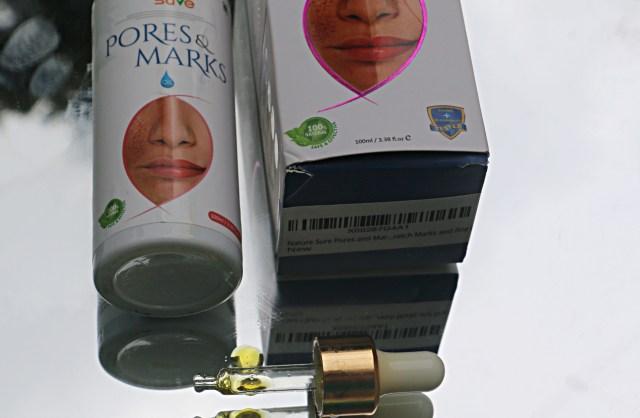 Nature Sure Pores & Marks Oil   Moringa Oil   Review
