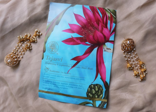Forest Essentials Tejasvi Ayurvedic Sheet Mask - Review