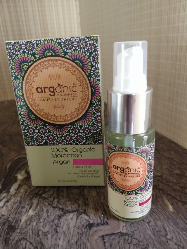 Arganic by Aryanveda Hair Serum | Review