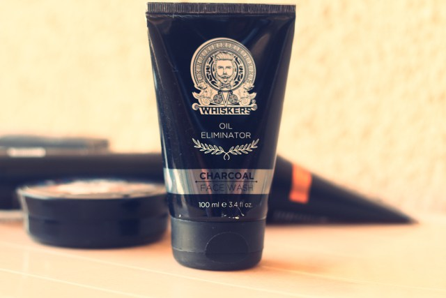 Whiskers Oil Eliminator Charcoal Face Wash