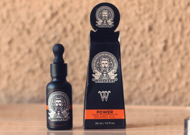 Whiskers Power Beard Oil