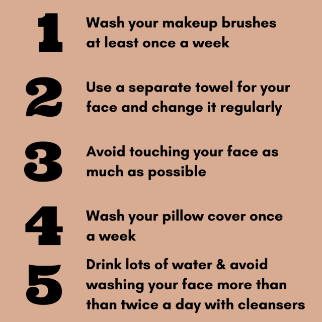 5 Habits For Clearer Skin