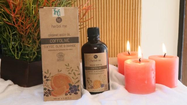 Herbal Me Coffolive Organic Body Oil