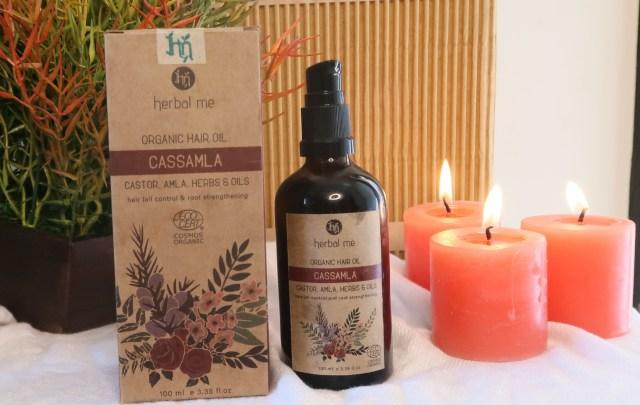Herbal Me Cassamla Organic Hair Oil