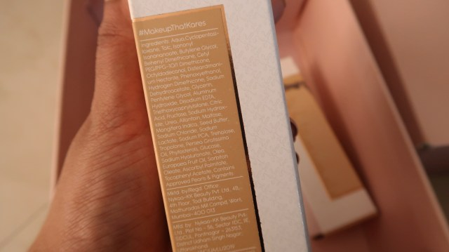 Kay Beauty Hydrating Foundation | Ingredients