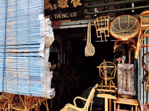 Rattan furniture that used to be everywhere
