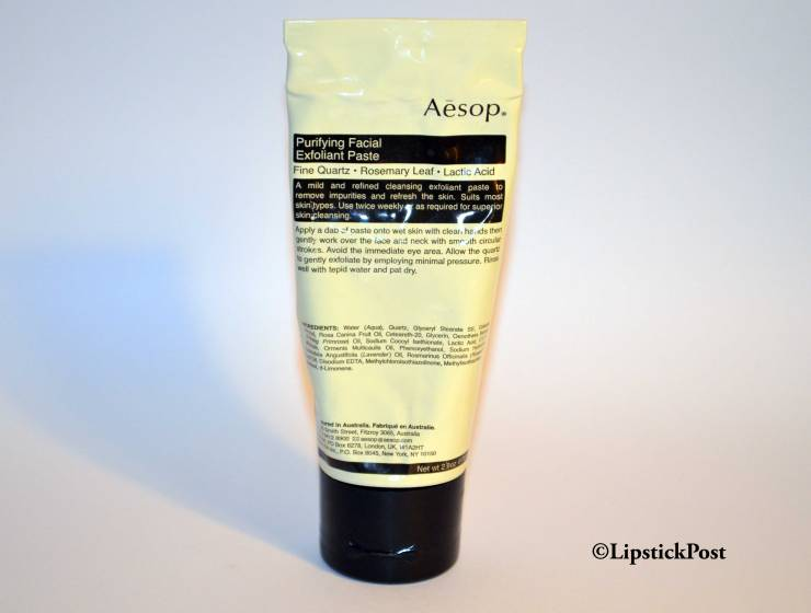 Purifying Facial Exfoliant Paste di Aesop