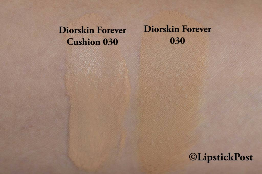 Swatches Diorskin Forever