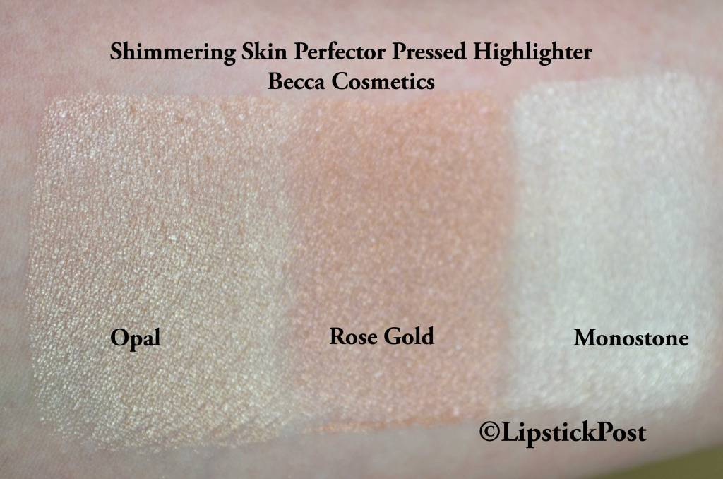 Swatches Becca Hightlighter