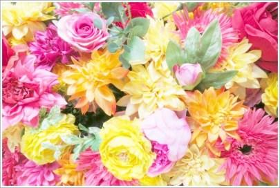 ポップ、花