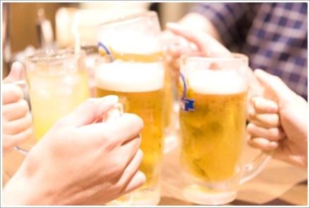 飲み会、合コン、打ち上げ、お酒
