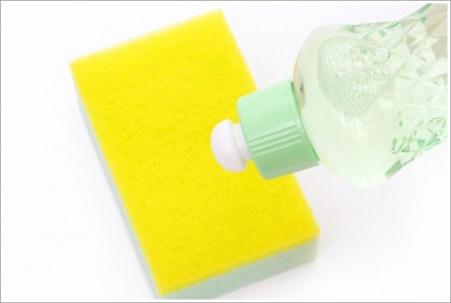 掃除、スポンジ、洗剤