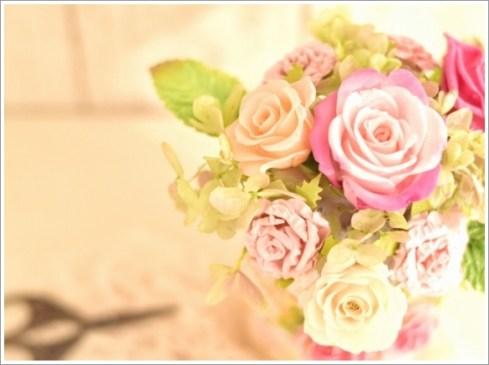 花、ハサミ