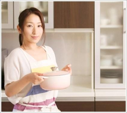 女性、料理、キッチン