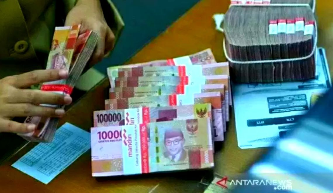 Ilustrasi Uang Rupiah. Foto: Antara