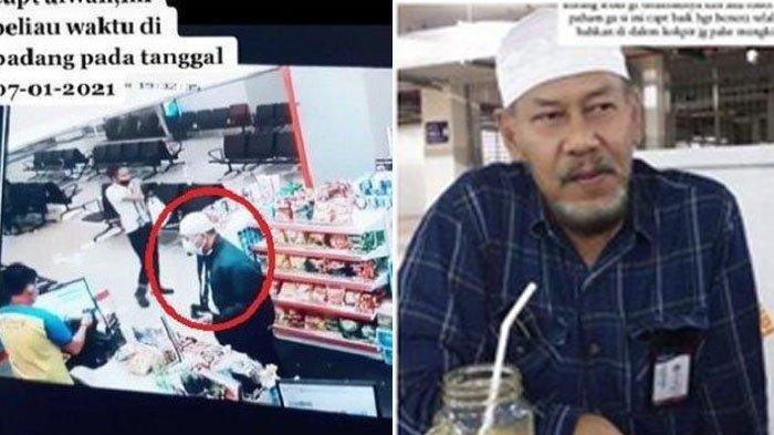 rekaman CCTV Captain Afwan di Padang dua hari sebelum Sriwijaya Air SJ 182