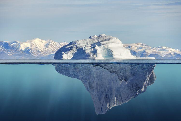 Gunung Es Seberat 1 Triliun Ton Hanyut di Antartika