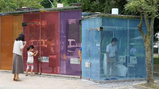 Hasil gambar untuk Viral! Toilet Transparan di Tokyo, Apa Tanggapan Warga?