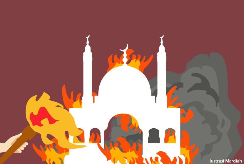 Polda Aceh Bantah Soal Pembakaran Masjid di Bireun | Republika Online