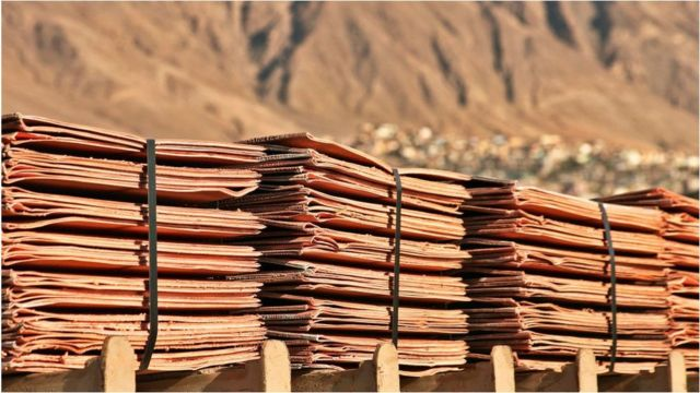 A commodities trader was given painted stones instead of $36m (£20m) of copper.