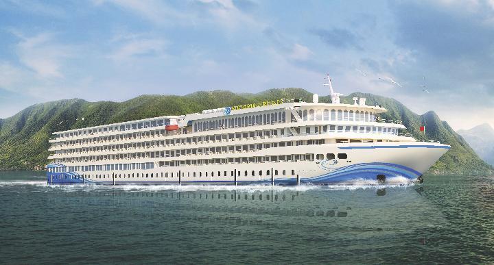 Sabar, 2020 Kapal Pesiar Raksasa Ini Melayari Sungai Yangtze - Travel  Tempo.co