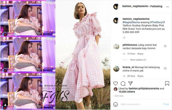 Cuek pakai dress Rp 3 jutaan saat mengobrol dengan Raffi Ahmad, Nagita Salvina jadi sorotan publik.