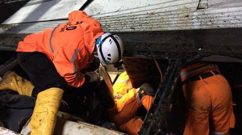 Update Terbaru Kecelakaan Maut Bus Sri Padma Kencana di Sumedang, Ditemukan 66 Korban - Halaman 4 - Tribun Wow
