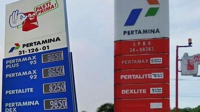 Ini Perbedaan SPBU Pertamina Warna Merah dan Biru, Lihat Fasilitasnya - Serambi Indonesia