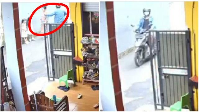 Terekam CCTV, Emak-emak di Tangerang Jadi Korban Penjambretan Kalung Emas