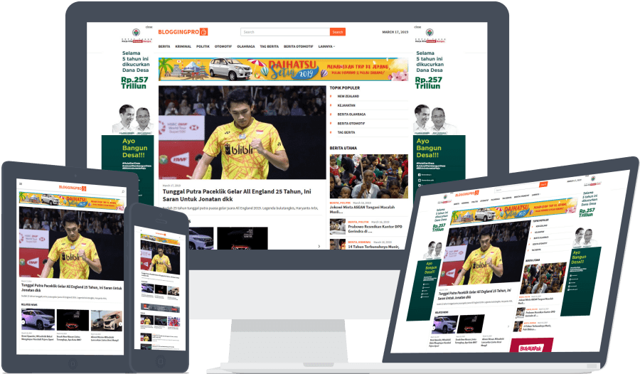 Mengapa sobat harus membeli theme ini? Banyak sekali fitur keren yang mendukung sobat untuk membangun sebuah website berita.
