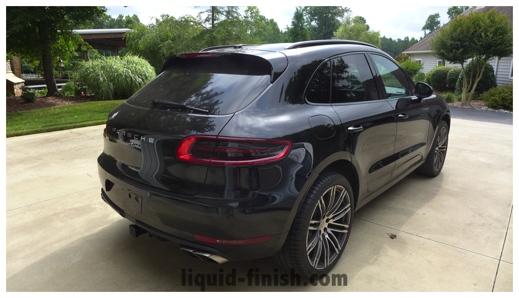 Ultimate Vehicle Protection 2015 Porsche Macan Turbo Black