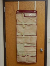 Over the Door Closet Organizer 11 Pockets, Pantry ...