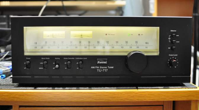 Sansui TU-717 AM/FM Stereo Tuner Service & Alignment