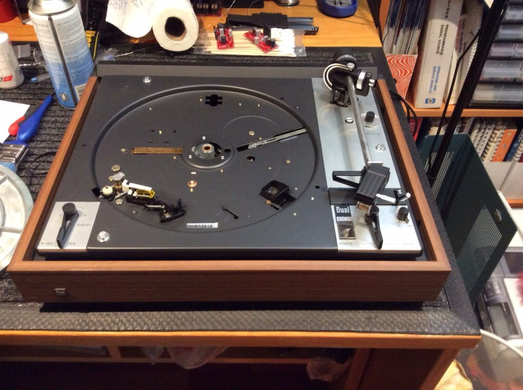 Dual 601 Belt-Drive Turntable Service