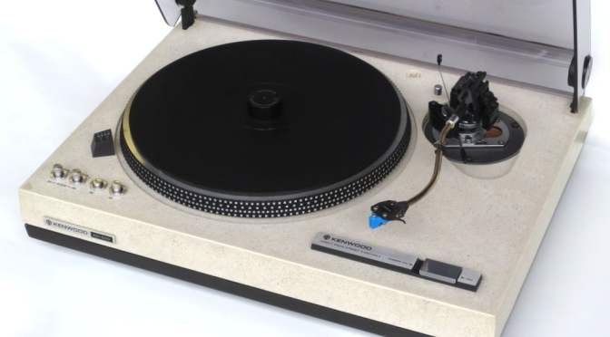 Kenwood KD-500 / KD-550 Direct Drive Turntable Review