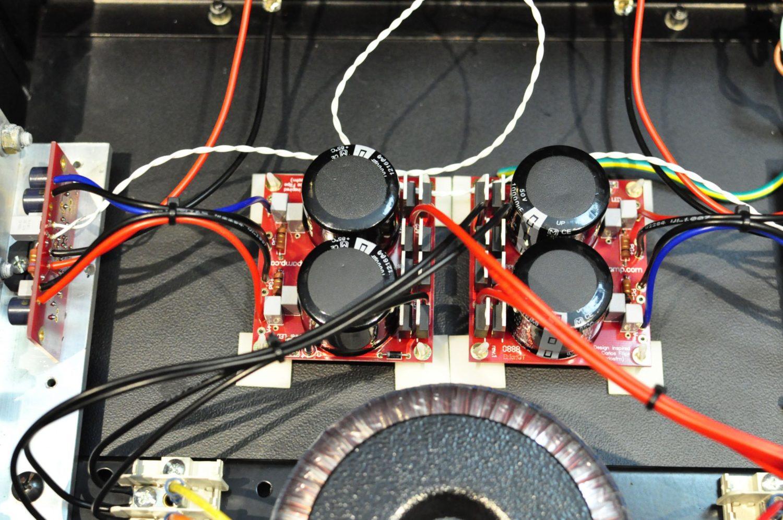 LM3886 Chip Amp / gainclone amplifier construction project