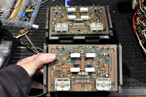 DSC6535-1024x680 Luxman M-4000A Amplifier Repair & Restoration