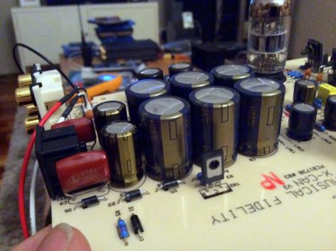 IMG_0115 Musical Fidelity X-Can V3 Headphone Amplifier Modifications