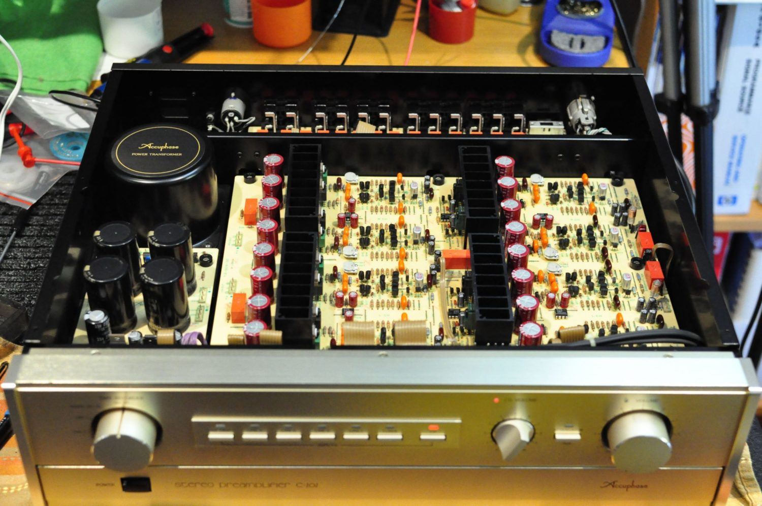 PREAMP ACCUPHASE C-202. OPINIONES DSC6630
