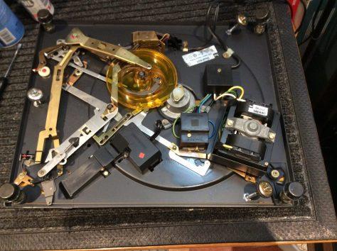 turntable repairs