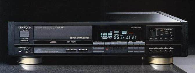Classic Kenwood D-3300P CD Player Service & Repair