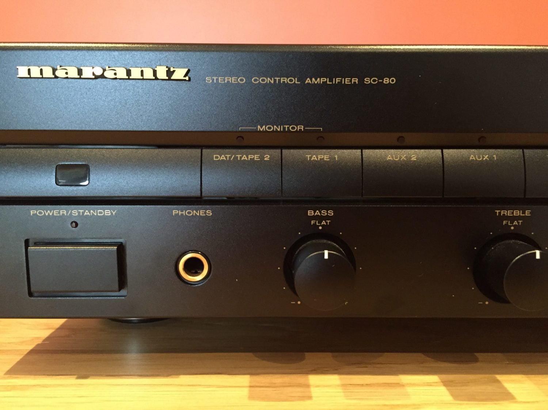 Marantz SC-80 Preamplifier Repair