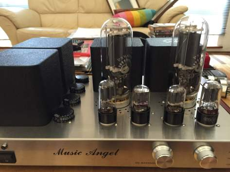 IMG_3007 Music Angel Class-A 845 Tube Amplifier for Sale