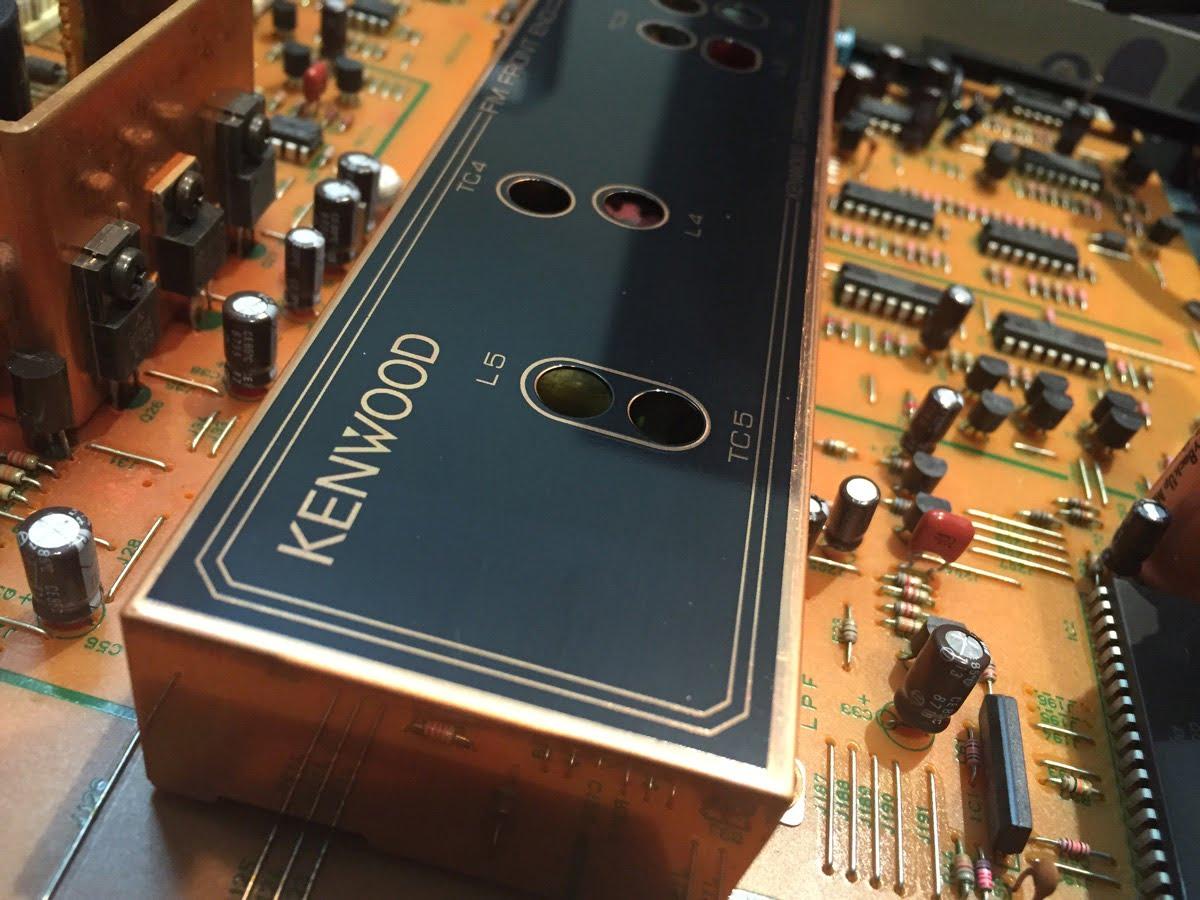 Kenwood KT-3300D FM Stereo Super-Tuner Service & Alignment