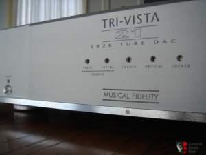 Musical Fidelity Tri-Vista 21 Tube DAC Modifications