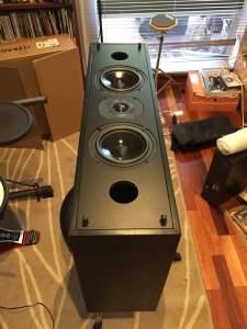 Krix Centrix Premium Center Channel Home Cinema Speaker For Sale!