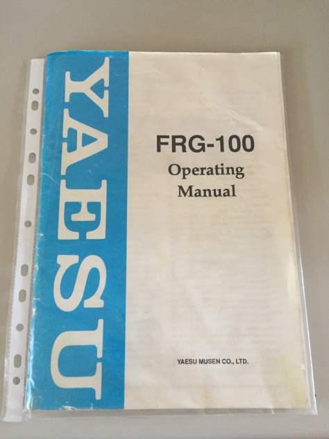 Yaesu FRG-100